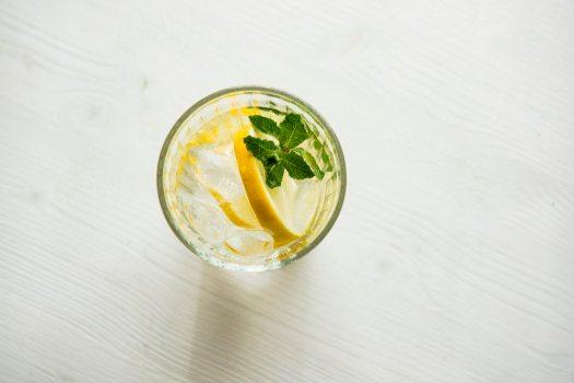 green tea ginger cocktail